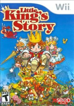 Little King's Story WII Cover Art
