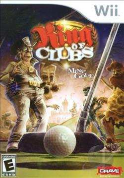 King of Clubs: Mini-Golf WII Cover Art