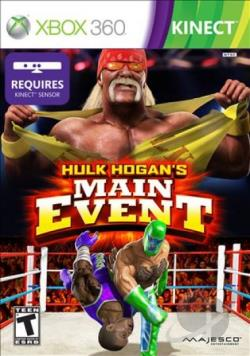 Hulk Hogan's Main Event XB360 Cover Art