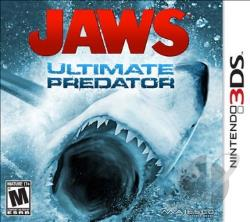 Jaws: Ultimate Predator 3DS Cover Art