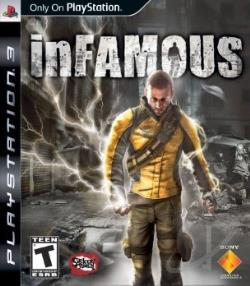 Infamous PS3 Cover Art