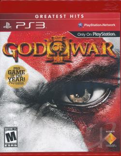 God of War III PS3 Cover Art