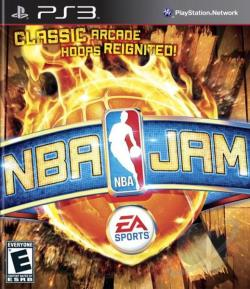 NBA Jam PS3 Cover Art