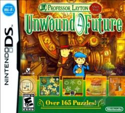 Professor Layton and the Unwound Future NDS Cover Art