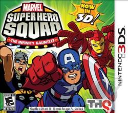 Marvel Super Hero Squad: The Infinity Gauntlet 3DS Cover Art