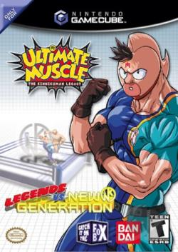 Ultimate Muscle: Legends vs. New Generation GQ Cover Art
