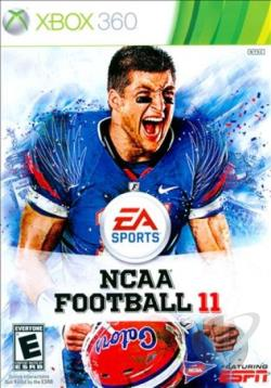 NCAA Football 11 XB360 Cover Art