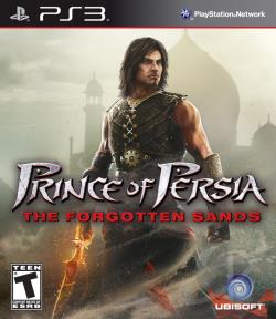 Prince of Persia: The Forgotten Sands PS3 Cover Art