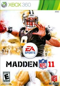Madden NFL 11 XB360 Cover Art