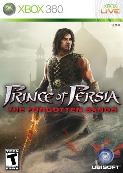 Prince of Persia: The Forgotten Sands XB360 Cover Art