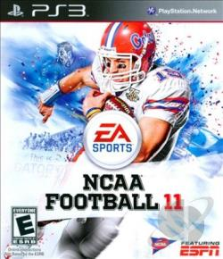 NCAA Football 11 PS3 Cover Art