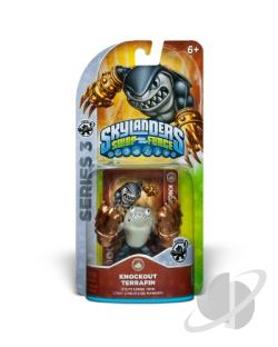 Skylanders Swap Force-Knockout Terra S3 Cover Art
