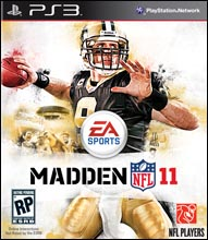 Madden NFL 11 PS3 Cover Art