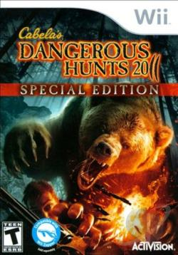 Cabela's Dangerous Hunts 2011: Special Edition WII Cover Art
