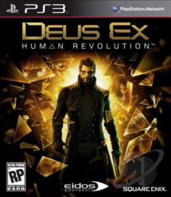 Deus Ex: Human Revolution PS3 Cover Art