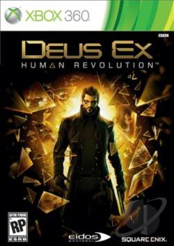 Deus Ex: Human Revolution XB360 Cover Art