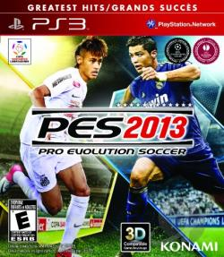 Pro Evolution Soccer 2013 PS3 Cover Art