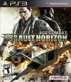 Ace Combat: Assault Horizon PS3 Cover Art
