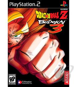 Dragon Ball Z: Budokai 3 PS2 Cover Art