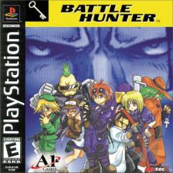 Battle Hunter PS Cover Art