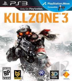 Killzone 3 PS3 Cover Art