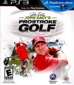 John Daly's ProStroke Golf PS3 Cover Art