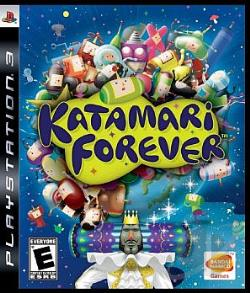 Katamari Forever PS3 Cover Art