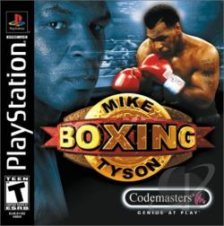 Mike Tyson Boxing PS Cover Art