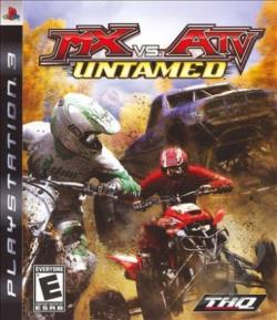 MX vs. ATV Untamed PS3 Cover Art