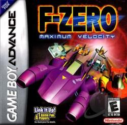 F-Zero: Maximum Velocity GBA Cover Art