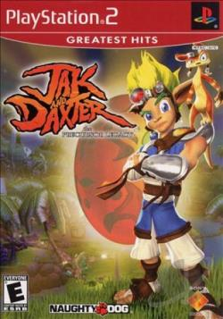Jak and Daxter: The Precursor Legacy PS2 Cover Art