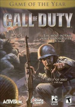 Call of Duty PCG Cover Art