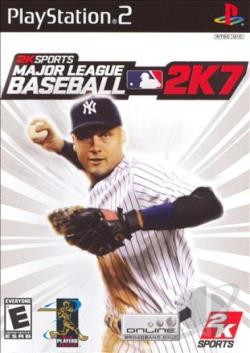 Major League Baseball 2K7 PS2 Cover Art