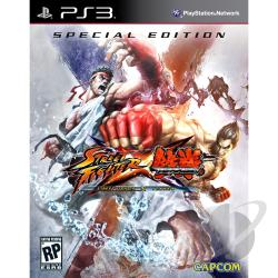 Street Fighter X Tekken Special Ed. PS3 Cover Art