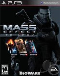 Mass Effect Trilogy PS3 Cover Art