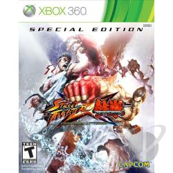 Street Fighter X Tekken: Special Edition XB360 Cover Art