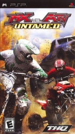 MX vs. ATV Untamed PSP Cover Art