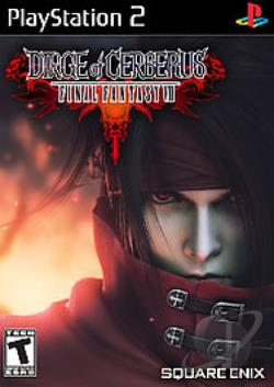 Dirge of Cerberus: Final Fantasy VII PS2 Cover Art