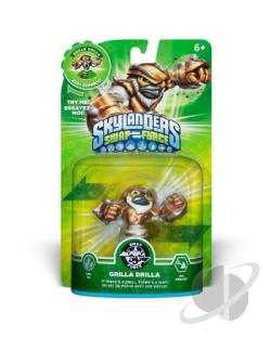 Skylanders Swap Force-Swap Grilla Drilla Cover Art