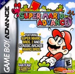 Super Mario Advance GBA Cover Art