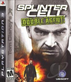 Tom Clancy's Splinter Cell: Double Agent PS3 Cover Art