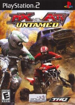 MX vs. ATV Untamed PS2 Cover Art
