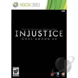 Injustice: Gods Among Us XB360 Cover Art