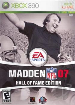 Madden NFL 07: Hall Of Fame Edition XB360 Cover Art