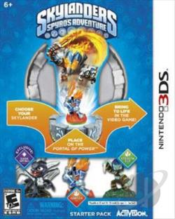 Skylanders Spyro's Adventure 3DS Cover Art