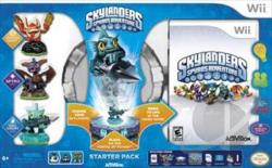 Skylanders Spyro's Adventure WII Cover Art