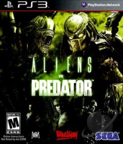 Aliens vs. Predator PS3 Cover Art