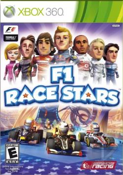 F1 Race Stars XB360 Cover Art