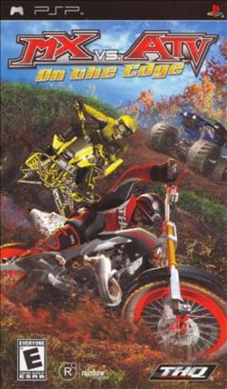 MX vs. ATV: On the Edge PSP Cover Art