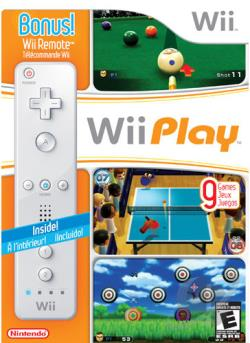 Wii Play With Wii Remote WII Cover Art